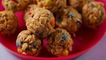 """<p><strong><strong>Tabitha's Meal Plan</strong></strong><br></p><p><strong>Breakfast</strong> – Greek yogurt with granola and fruit or a smoothie, plus water and milk or orange juice<br></p><p><strong>Snacks </strong>– Peanut butter protein balls. """"I make them with oats, peanut butter, honey and protein powder,"""" she says. """"Our whole team loves them and we eat them a lot during breaks<span class=""""redactor-invisible-space"""">.""""</span><br></p><p><strong>Lunch</strong> – Salads with baby spinach, chicken, veggies like peppers, broccoli, carrots and cucumber, and balsamic vinaigrette</p><p><strong>Dinner</strong> – Stir fry with quinoa or another grain instead of rice, with protein like chicken or shrimp and sauce</p>"""