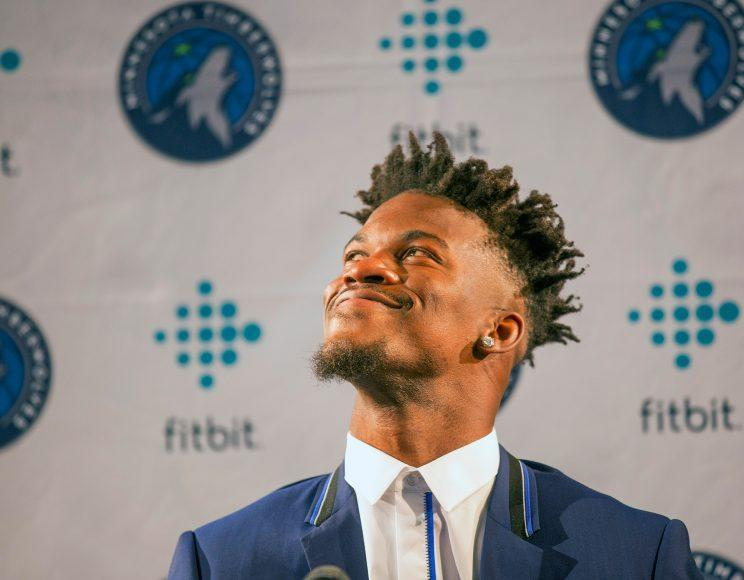After trading for Jimmy Butler, the Wolves are on the hunt for more big-time talent. (AP)