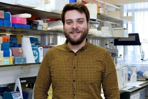 """<span class=""""caption"""">Dr Connor Bamford, a Wellcome Research Fellow in virology and antiviral immunity.</span>"""