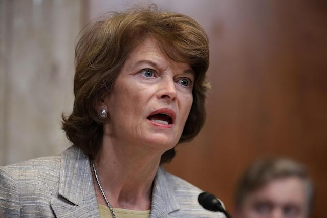 Sen. Lisa Murkowski, R-Ark., chair of the Senate Appropriations Committee's Interior, Environment, and Related Agencies Subcommittee. (Photo: Chip Somodevilla/Getty Images)