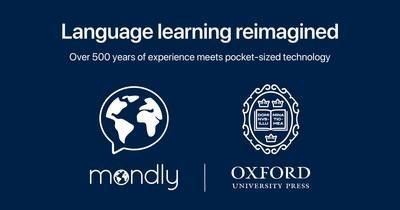 Mondly partners with Oxford University Press to introduce custom English learning and assessment module (PRNewsfoto/Mondly)