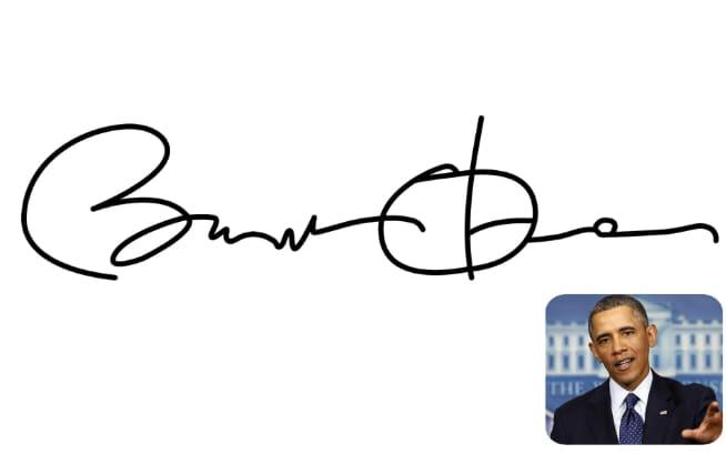 Barack Obama's signature was a case of ideals over personality, apparently
