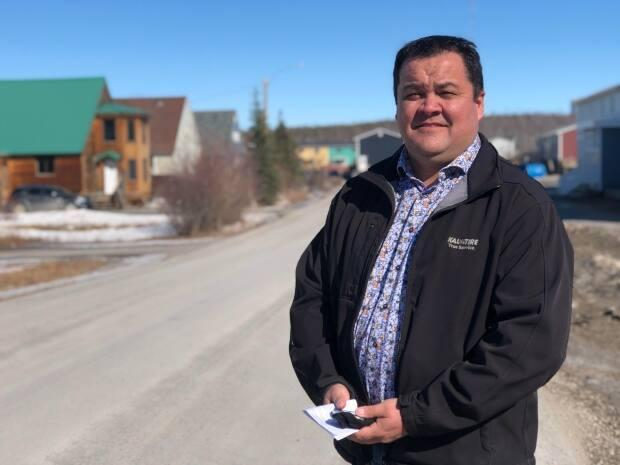 Ken Kyikavichik, the grand chief of the Gwich'in Tribal Council, says northern communities need help with social issues before moving too far ahead with economic development for the future. (Mackenzie Scott/CBC - image credit)
