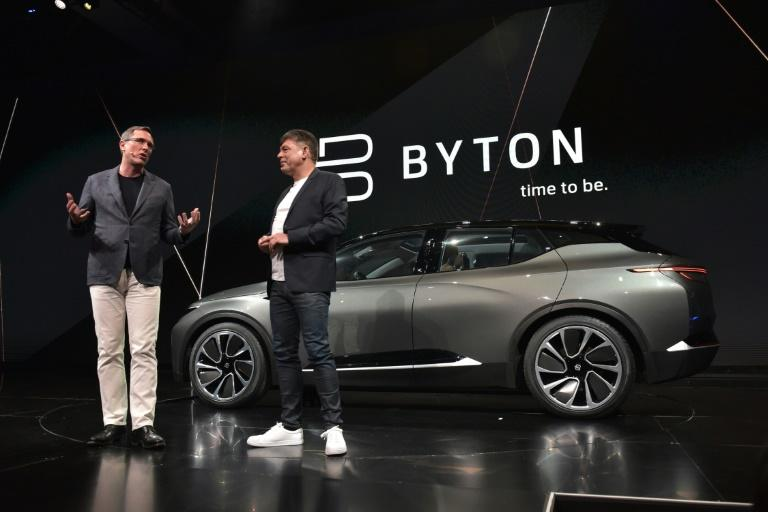 Chinese electric carmaker Byton raises $500 mn to take on Tesla