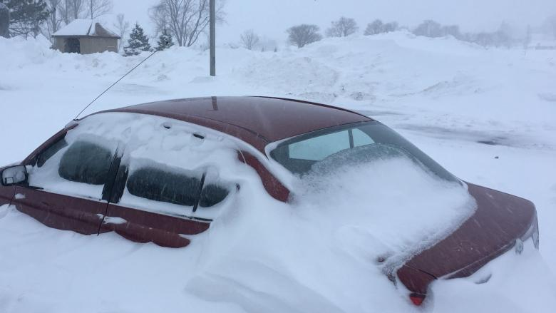 Driving conditions remain poor following storm