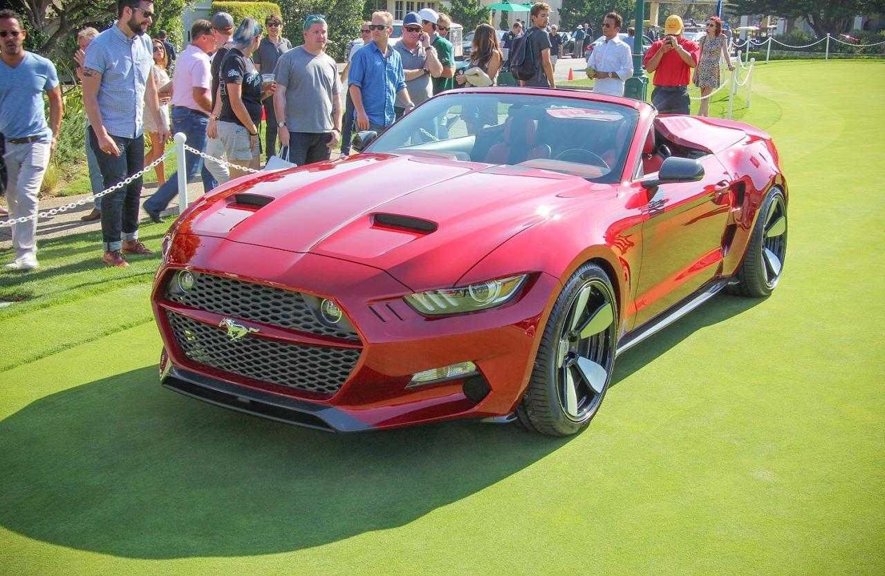 <p>The Rocket Speedster is essentially Rocket, only built around the structure and innards of a Mustang Convertible instead of that of the coupe. Like the Rocket coupe, the Speedster wears sexy, wide-body styling, but gets its a unique removable tonneau cover with sculpted fairings and air vents and over the rear seat area, effectively turning the four-seater into a two seater when it's installed.</p>