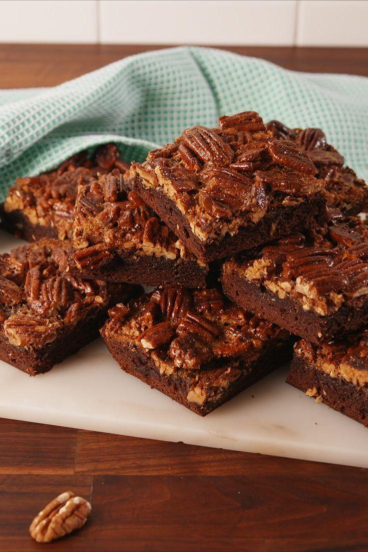"""<p>We should have done this a long time ago.</p><p>Get the recipe from <a href=""""https://www.delish.com/cooking/recipe-ideas/recipes/a56925/pecan-pie-brownies-recipe/"""" rel=""""nofollow noopener"""" target=""""_blank"""" data-ylk=""""slk:Delish"""" class=""""link rapid-noclick-resp"""">Delish</a>. </p>"""