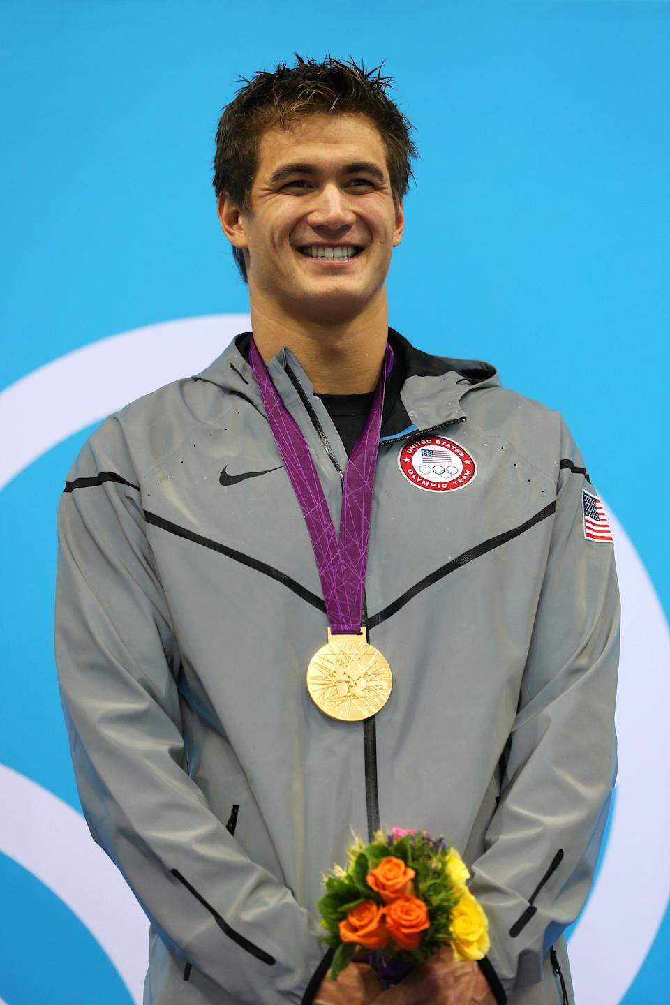 After taking part in one of the most historic Olympic events in history, Nathan Adrian has lots to be proud of. The well-spoken gold medalist, Nathan Adrian of the United States, has become a favorite amongst the ladies. (Photo by Clive Rose/Getty Images)
