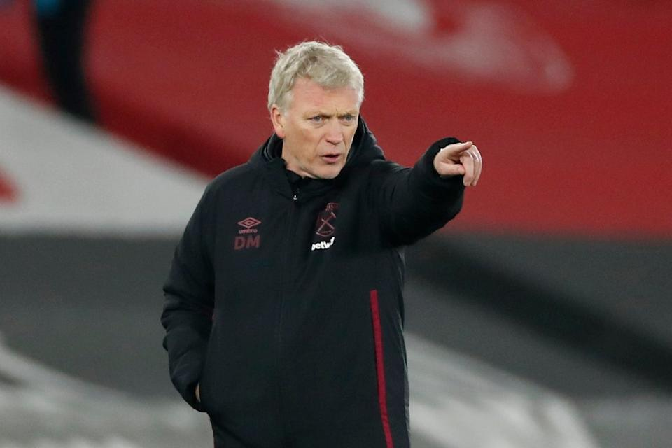 <p>David Moyes has had his say on football carrying on despite the spike in coronavirus cases</p> (Pool via REUTERS)