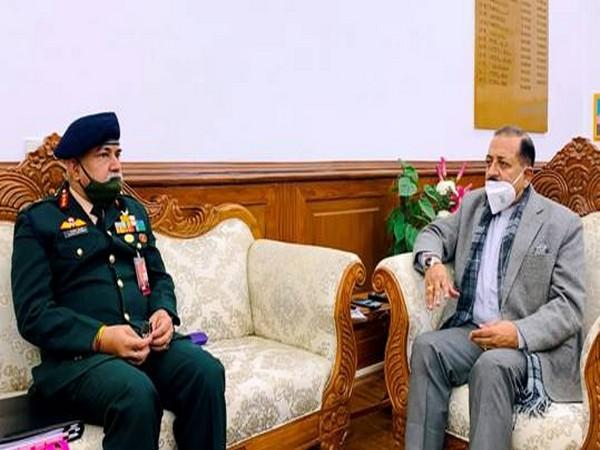 DG  BRO Lt General Rajeev Chaudhry briefed Union Minister Dr Jitendra Singh on Tuesday.