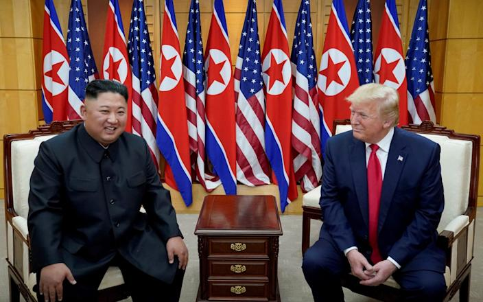 Tensions between Kim Jong-un and Donald Trump have grown since their historic meeting in 2018 - REUTERS