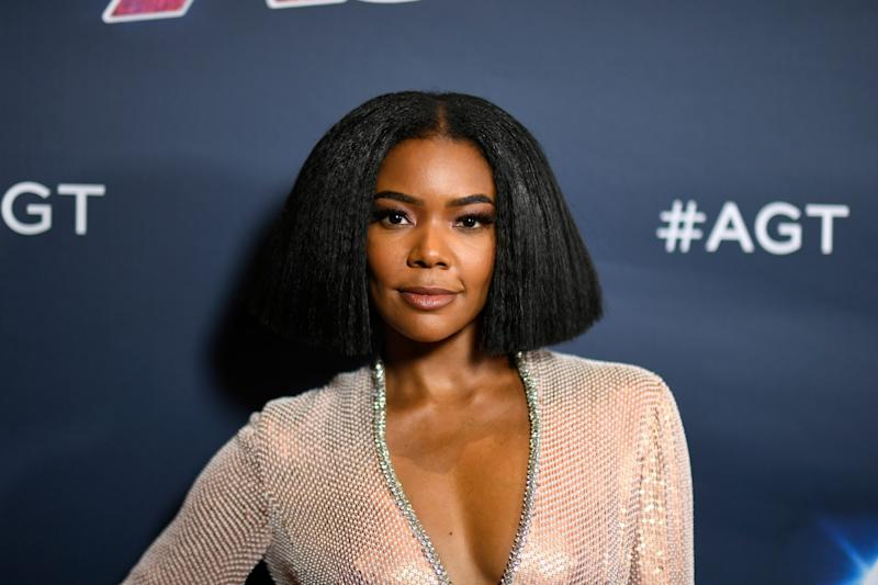 "Gabrielle Union attends the red carpet finale of Season 14 of ""America's Got Talent"" on Sept. 18, 2019, in Hollywood."