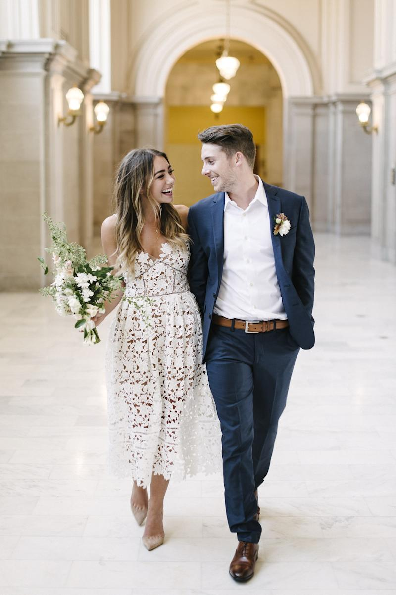 Wedding Dresses for Courthouse Ceremony