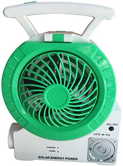 "<h3>Solar-Powered Fan</h3> <br>If you need to generate a breeze but are lacking in traditional power outlets, try a solar-powered fan. <br><br><strong>Hereta</strong> DHD Multi-Function Solar Fan, $, available at <a href=""https://www.amazon.com/Multi-function-Electric-Charging-Function-Entertainment/dp/B06XDFLCDM/"" rel=""nofollow noopener"" target=""_blank"" data-ylk=""slk:Amazon"" class=""link rapid-noclick-resp"">Amazon</a><br>"