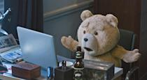 <p>Seth MacFarlane's creation may be a cute and cuddly teddy bear come to life, but his behaviour and his language aren't quite so respectable or as family-friendly as Paddington's. (Credit: Universal) </p>