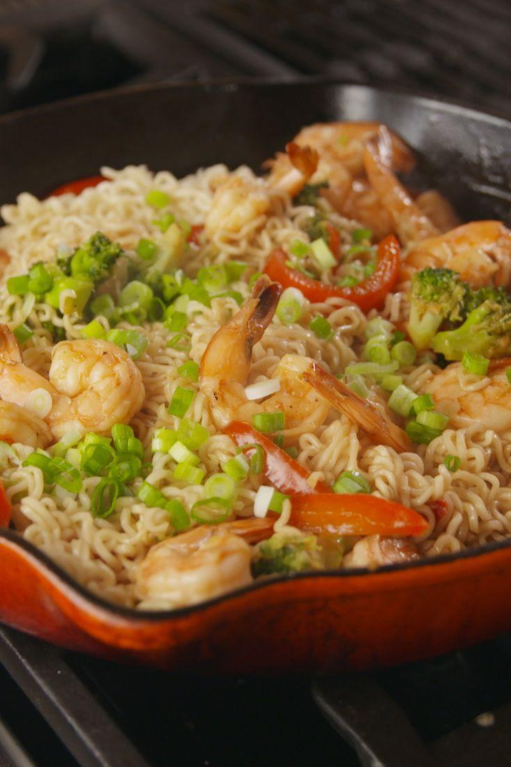 "<p>You wish you had this ramen in college.</p><p>Get the recipe from <a href=""https://www.delish.com/cooking/recipe-ideas/recipes/a55479/garlicky-shrimp-ramen-recipe/"" rel=""nofollow noopener"" target=""_blank"" data-ylk=""slk:Delish"" class=""link rapid-noclick-resp"">Delish</a>.</p>"