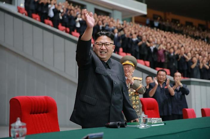 North Korean leader Kim Jong-Un ordered the test-firing of three ballistic missiles (AFP Photo/)