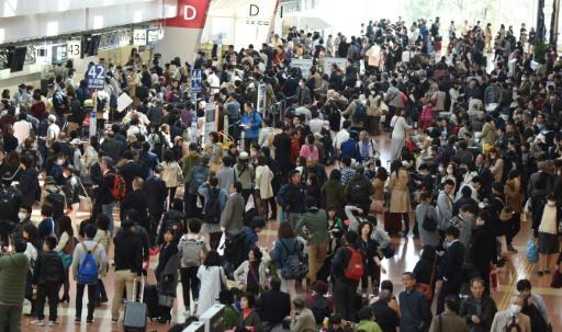 Airline system glitch strands 16,000 at Japan airports