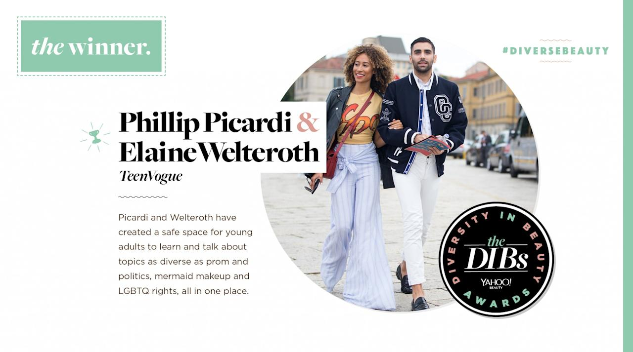 <p>Picardi and Welteroth have created a safe space for young adults to learn and talk about topics as diverse as prom and politics, mermaid makeup, and LGBTQ rights, all in one place. </p>