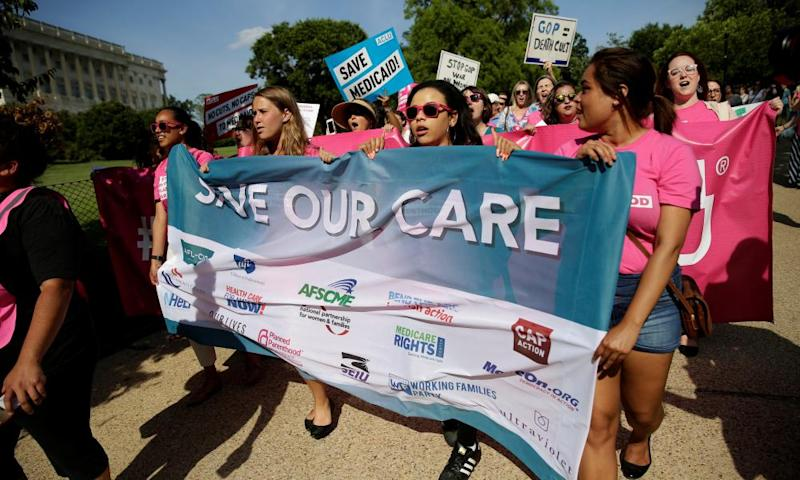 Planned Parenthood said of the proposal: 'Trumpcare will put contraception out of reach for many women.'