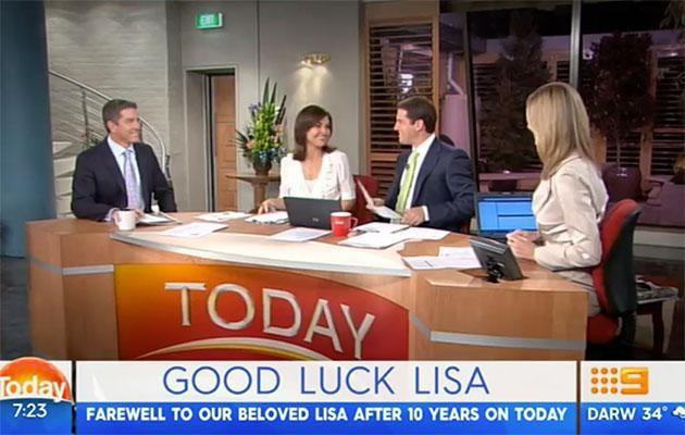 Karl reflected on his time with Lisa. Source: Channel Nine