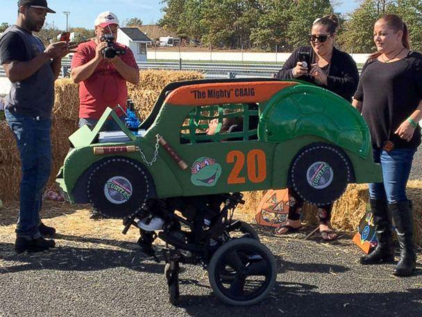 PHOTO: Magic Wheelchair helps kids with disabilities spruce up their wheelchairs for Halloween. (Magic Wheelchair)