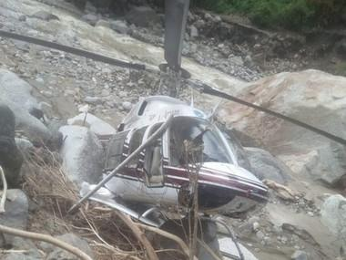 Helicopter services in Uttarakhand's flood-hit Arakot suspended following two crashes in four days, may impact relief work