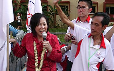 The SPP has given its approval to Lina Chiam to take up the NCMP seat. (Yahoo! photo/ Faris Mokhtar)