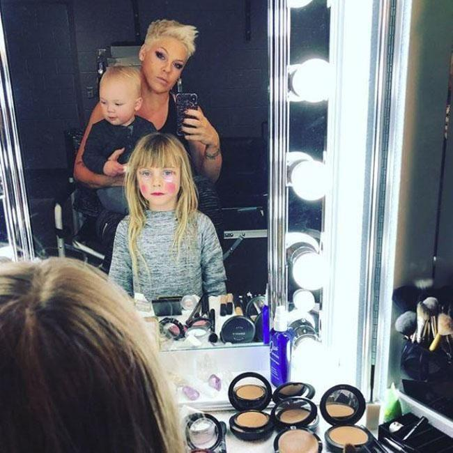 Pink tells her daughter the truth about life. 'You have to fight for your rights', she tells People. Source: Instagram/Pink