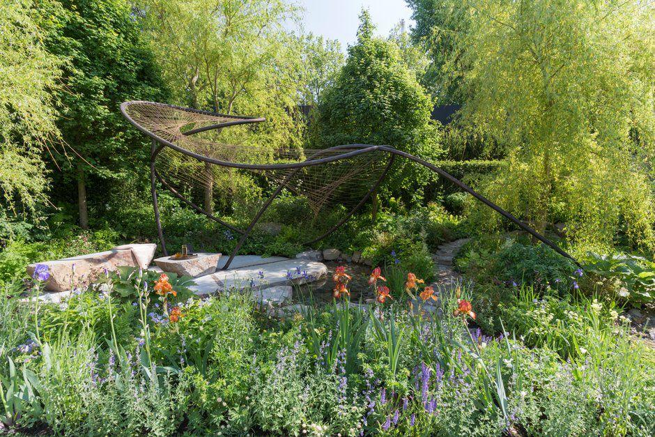 <p>'Dramatic sculptural forms are a frequent motif at RHS Chelsea and this year is no exception, with Kate Gould MSGD, Tony Woods MSGD and Jo Thompson MSGD all incorporating striking sculptures into their gardens,' says The Society of Garden Designers.</p>