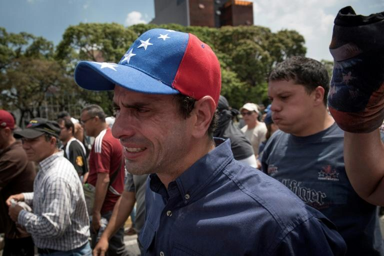 Opposition leader Henrique Capriles has spearheaded the mass demonstrations against Venezuela's Nicolas MaduroMore