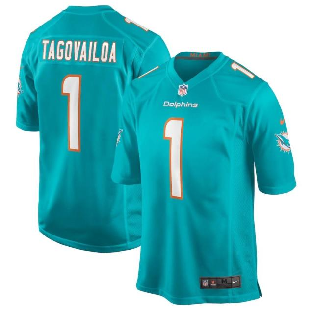 Tua Tagovailoa's Fins jersey tops sales list since NFL draft -- shop the rookie's gear here