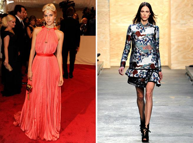 Who's Taking Who To The 2012 Met Ball? Altuzarra & Lana Del Rey! Proenza Schouler & Isabel Lucas!