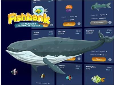 Fishbank, the new crypto collectibles blockchain game!