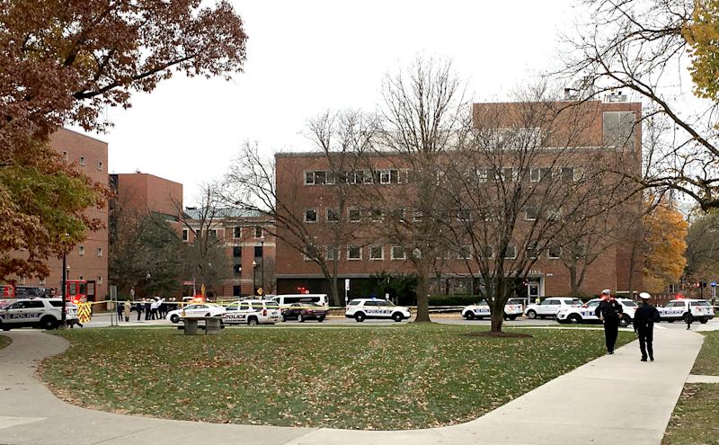 Shooter Reported Dead at Ohio State University, Eight Hospitalized