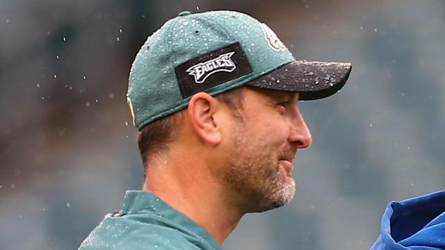 Mike Groh and Carson Walch have left the Philadelphia Eagles just a day after Doug Pederson suggested they would stay on.