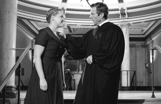 """<p>This parody of the classic 1957 courtroom drama stars actors such as John Hawkes, Vincent Kartheiser, Paul Giamatti, and Jeff Goldblum debating not a legal case, but rather whether or not Amy Schumer is """"hot enough"""" to be on TV. Perhaps the year's best feminist-comedy moment. <i>— KT</i><br /></p><p><i>(Credit: Comedy Central)</i></p>"""