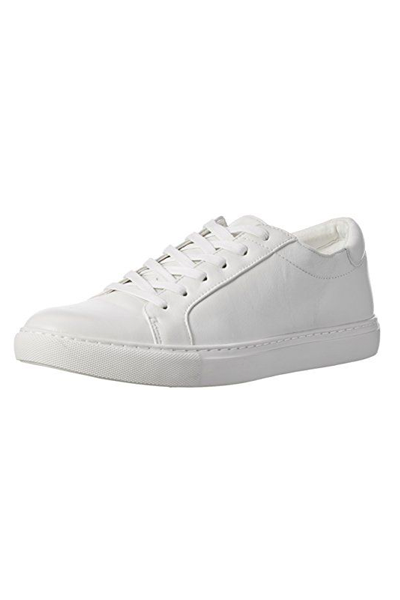 """<p><strong>Kenneth Cole New York</strong></p><p>amazon.com</p><p><strong>$58.00</strong></p><p><a href=""""https://www.amazon.com/dp/B00O4CCFQM?tag=syn-yahoo-20&ascsubtag=%5Bartid%7C10049.g.36804572%5Bsrc%7Cyahoo-us"""" rel=""""nofollow noopener"""" target=""""_blank"""" data-ylk=""""slk:Shop Now"""" class=""""link rapid-noclick-resp"""">Shop Now</a></p><p>Is there actually such a thing as too many white leather sneakers? We think not.</p>"""