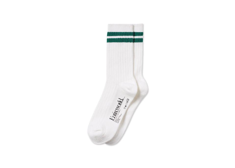 """<br><br><strong>Entireworld</strong> Recycled Cotton Gym Sock, $, available at <a href=""""https://go.skimresources.com/?id=30283X879131&url=https%3A%2F%2Ftheentireworld.com%2Fwomen%2Fproduct%2Fsocks-womens-type-a-version-4-white-kelly-green"""" rel=""""nofollow noopener"""" target=""""_blank"""" data-ylk=""""slk:Entireworld"""" class=""""link rapid-noclick-resp"""">Entireworld</a>"""