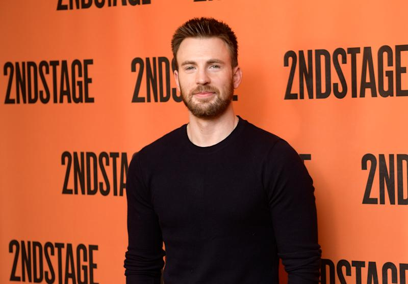 "NEW YORK, NY - FEBRUARY 16: Actor Chris Evans attends the ""Lobby Hero"" cast meet and greet at Sardi's on February 16, 2018 in New York City. (Photo by Noam Galai/Getty Images)"