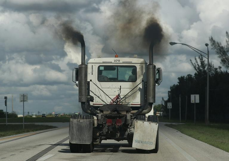 The analysis by the environmental groups found that the US was the largest polluter in history (AFP Photo/JOE RAEDLE)