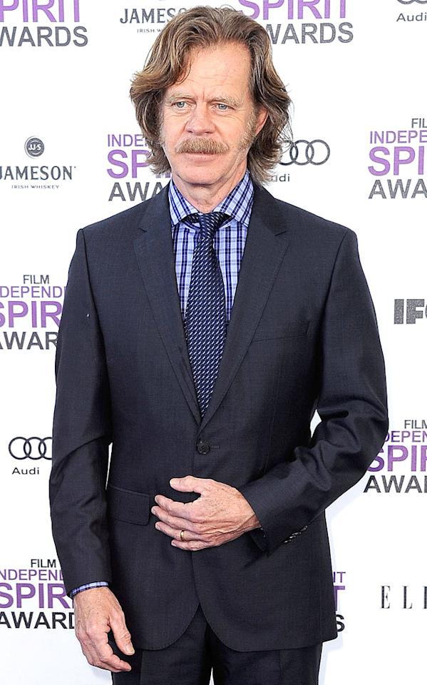 "William H. Macy (""Shameless"") turns 62 on March 13."