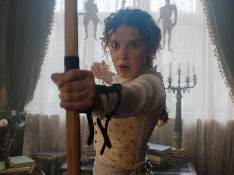 Millie Bobby Brown in 'Enola Holmes'Netflix