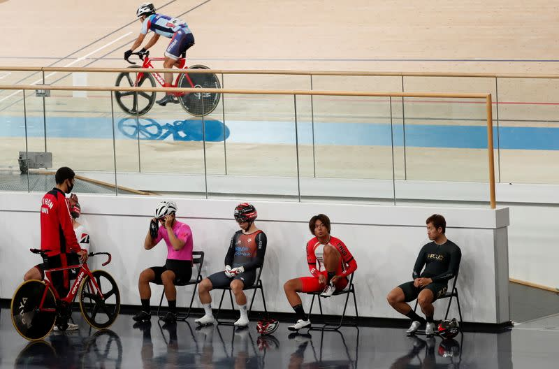 Tokyo 2020 Olympics test event for track cycling in Izu