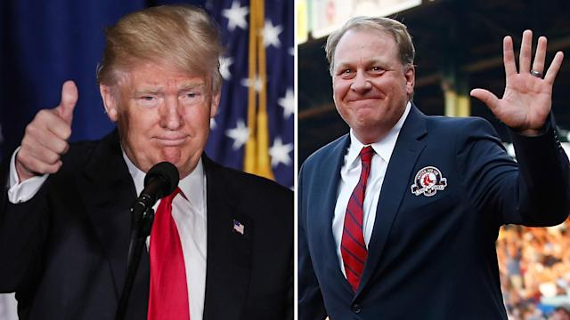 """Curt Schilling vented on his blog Friday, endorsing Donald Trump for president and ripping Hillary Clinton and the """"liberal media."""""""