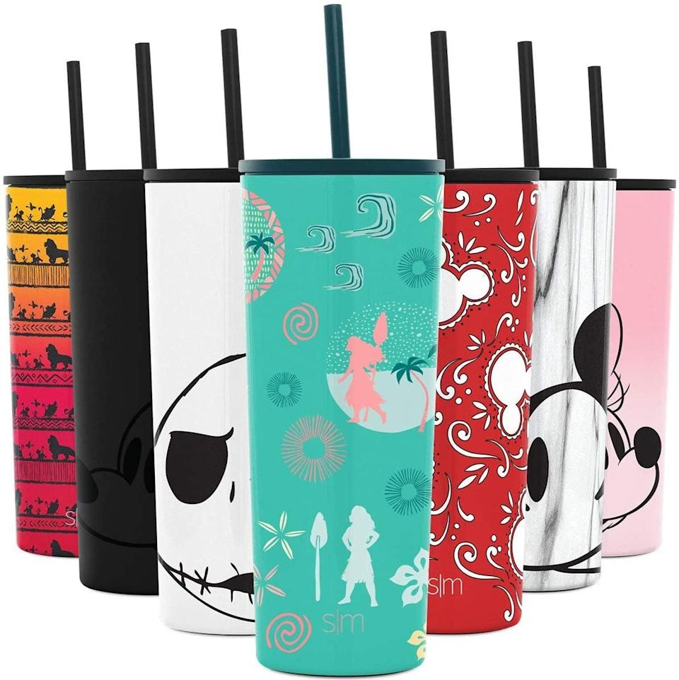 <p>Keep your iced coffees and refreshing summer spritzers cool all day long with this <span>Simple Modern Disney Insulated Water Bottle Tumbler with Straw and Lid in Moana Te Fiti Adventure</span> ($27). It comes in a variety of Disney-themed designs.</p>