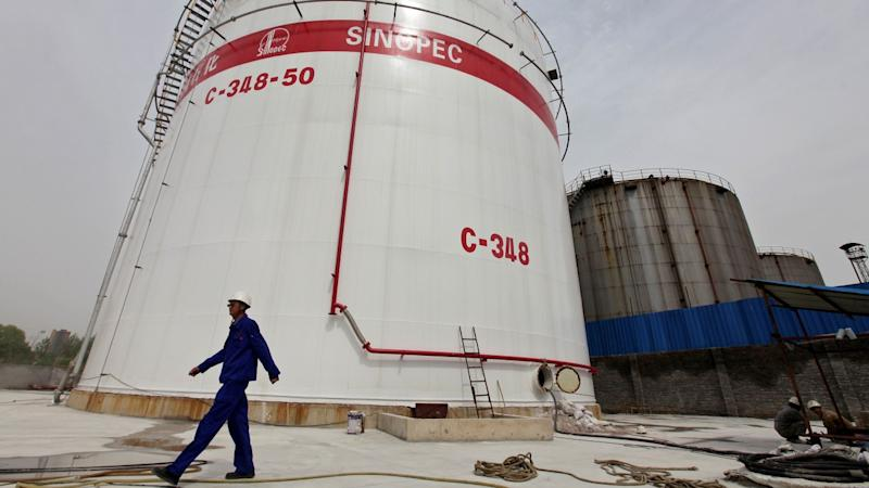 Sinopec, world's largest oil refiner, wary of secondary US sanctions on Iranian crude importers