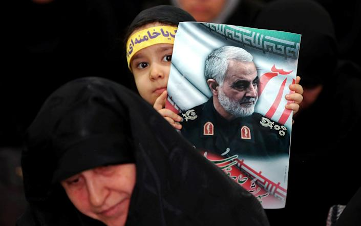 Soleimani's death was mourned widely in Iran and parts of Iraq - Nazanin Tabatabaee/WANA