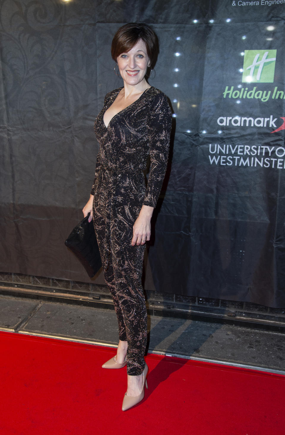 LONDON, UNITED KINGDOM - 2019/01/10: Kacey Ainsworth attends the 2019 Gold Movie Awards at Regent Street Cinema in London, England. (Photo by Gary Mitchell/SOPA Images/LightRocket via Getty Images)