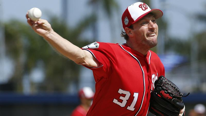 Nationals don't expect Max Scherzer to be ready for opening day